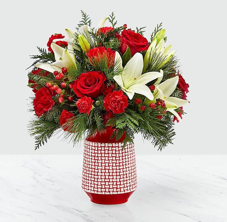Yeni Yıl Büyüsü Lilyum ve Güller