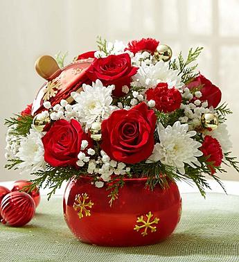 Yeni Yıl Çiçeği Aranjman