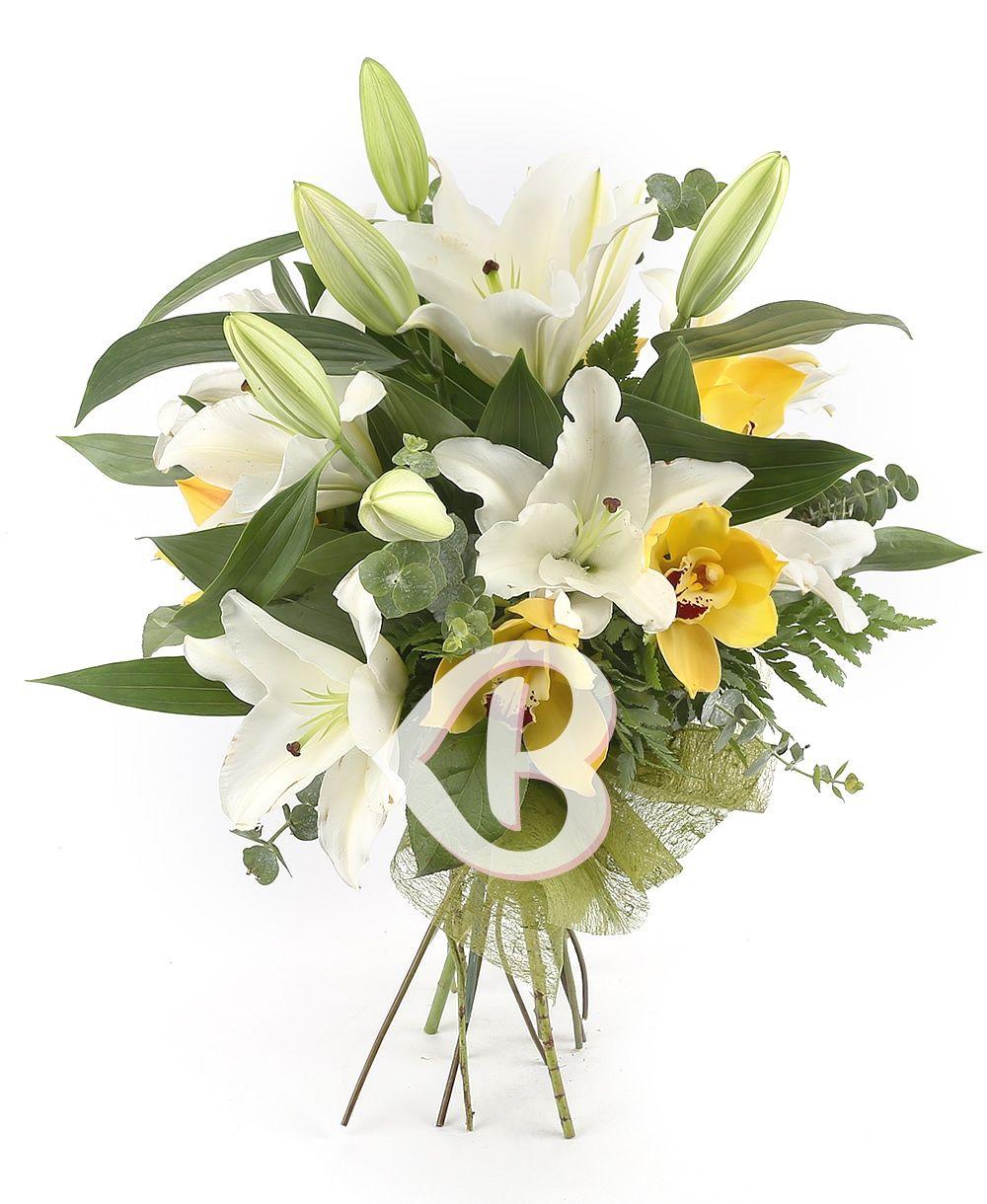 Lilyum ve Orkide Buket