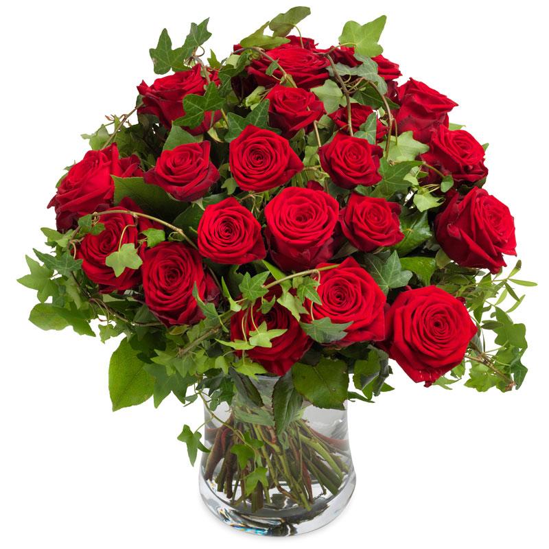 Kalpten Sevgi Kırmızı güller