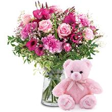 Kız Bebek doğum Çiçeği