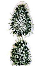 Beyaz çiçeklerden oluşan Düğün - Açılış çiçeği