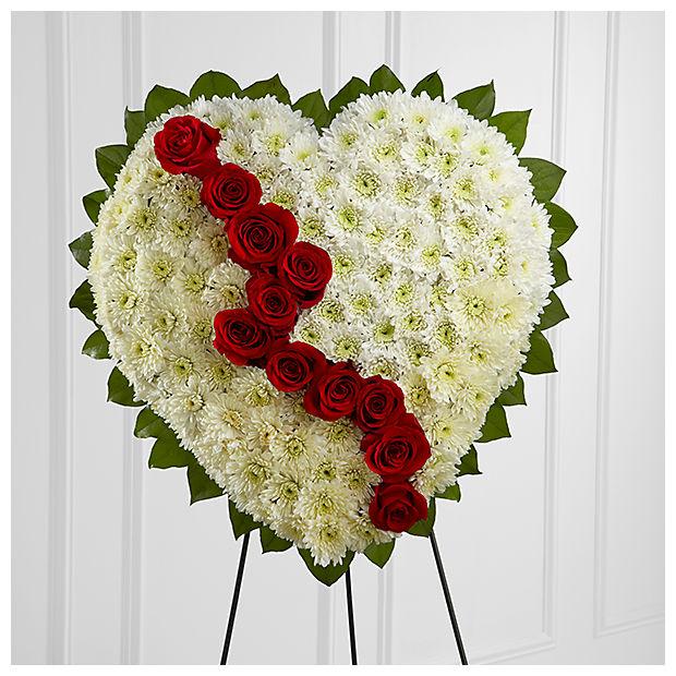 kırık Kalp Cenaze çiçeği
