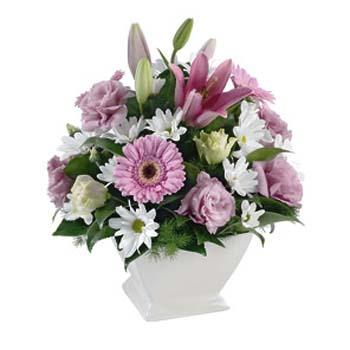 Mevsim çiçeği aranjman