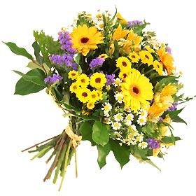 mevsim çiçeği buketi