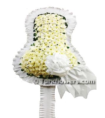 Çelenk - Beyaz - Düğün Açılış