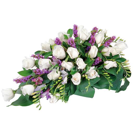Cenaze Tabut Çiçeği