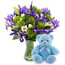 Erkek Bebek Doğum Çiçeği