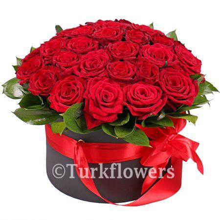 Kutuda Kırmızı Güller 19-25