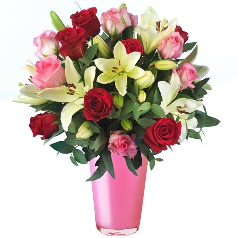 Lilyum ve Renkli Güller