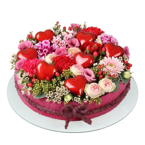 Pasta şeklinde çiçek