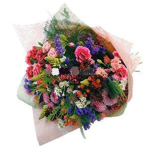 Kır Çiçeklerinden oluşan buket