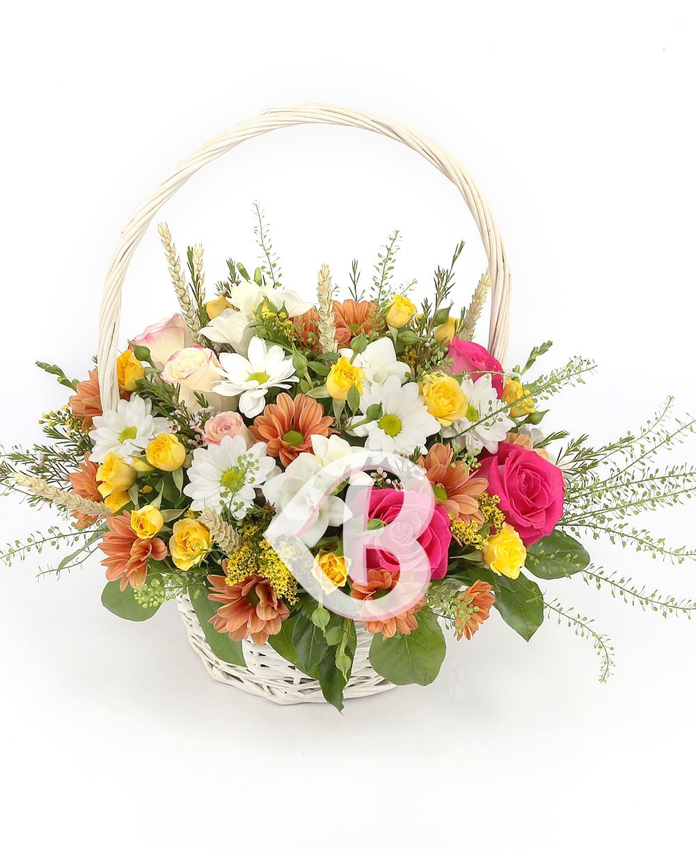 Kır Çiçeği sepeti