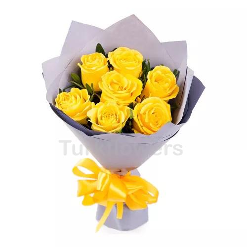 Sarı Gül Buketi