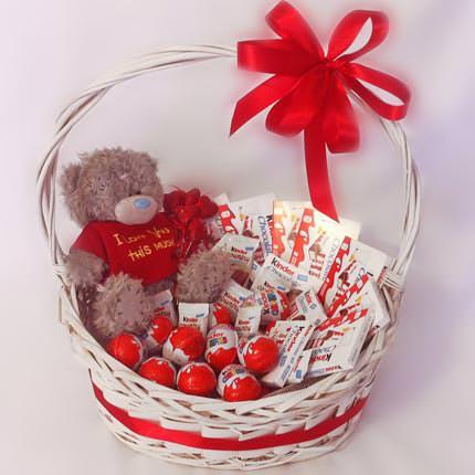 Seni seviyorum hediye sepeti